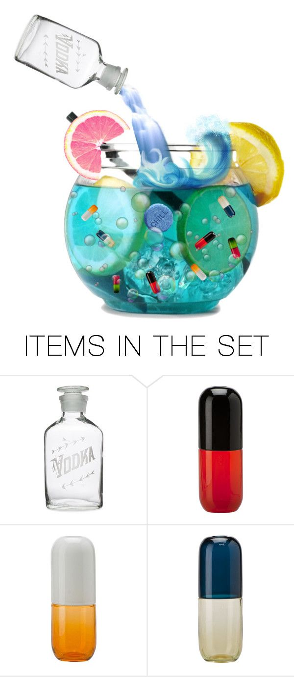 """Mixed Drink"" by odd-lexicon ❤ liked on Polyvore featuring art"