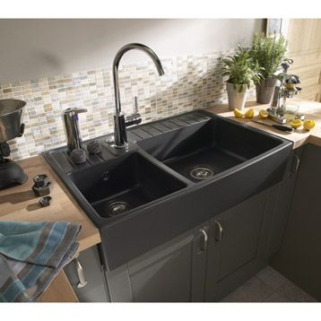 timbre d 39 office noir cuisine kitchen kitchen interior et home kitchens. Black Bedroom Furniture Sets. Home Design Ideas