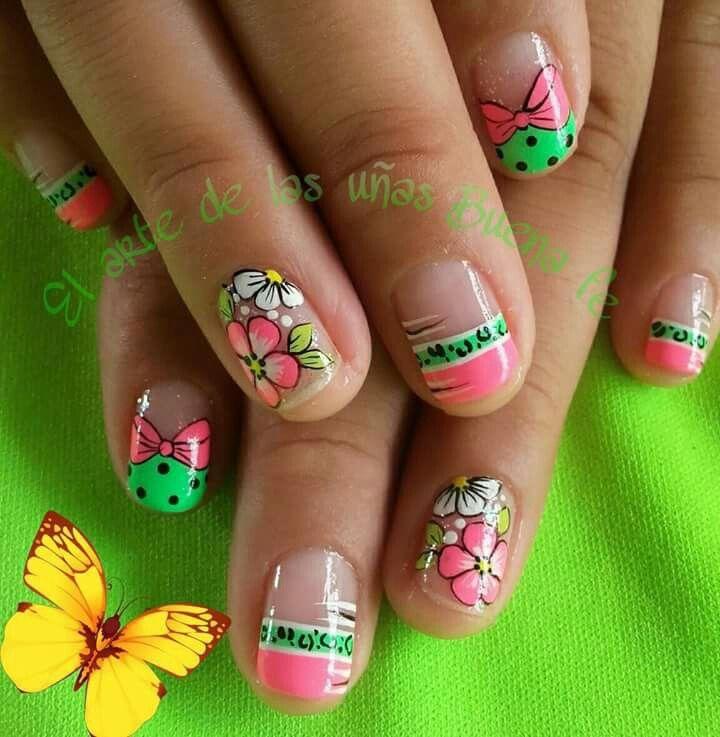 Uñas Decoradas 💅 | nails | Pinterest