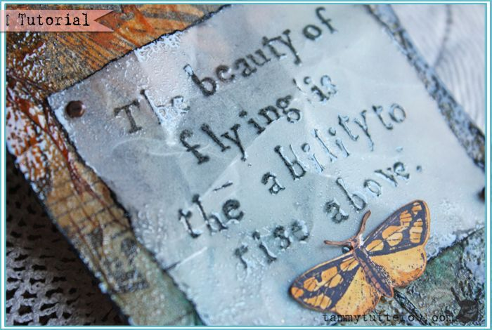 Crafty TBT | The Beauty of Flying