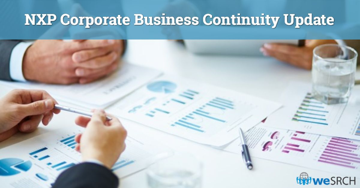 NXP Corporate Business Continuity (And Crisis Management