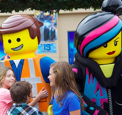 Meet Emmet and Wyldstyle from THE LEGO MOVIE at THE LEGO MOVIE ...