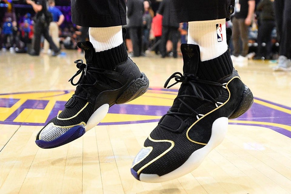 competitive price 7e312 20fb9 A First Look at the Upcoming adidas Crazy BYW LVL 1 BOOST Basketball Shoe