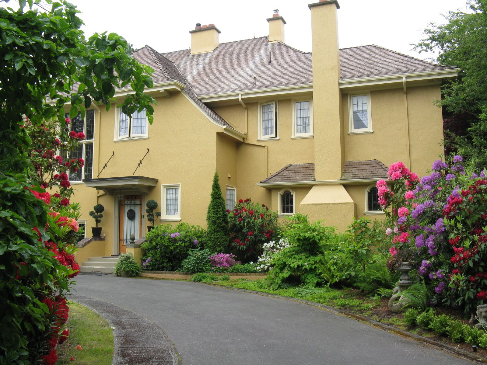 Villa Marco Polo Victoria Vancouver island, Bed