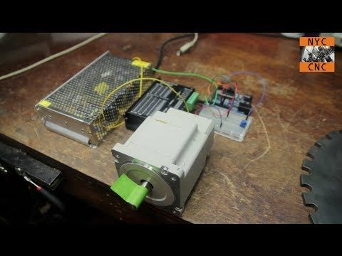 Driving big stepper motors with arduino electroniek for Driving stepper motor with arduino