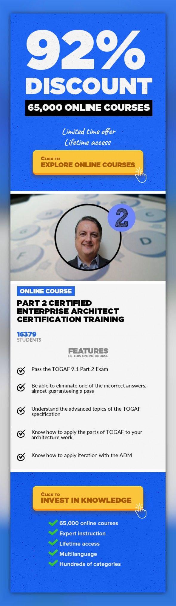 Part 2 Certified Enterprise Architect Certification Training
