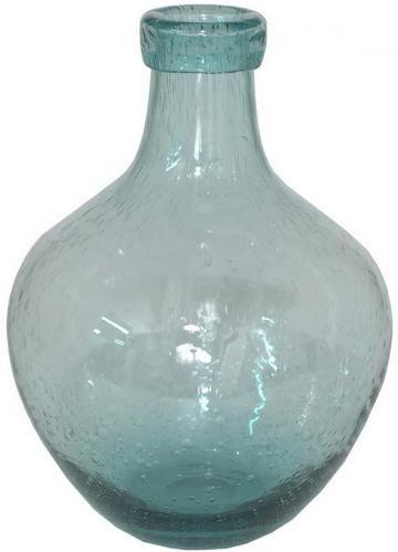 Renae Seeded Glass Vase 11hx825diameter 36 Accessories
