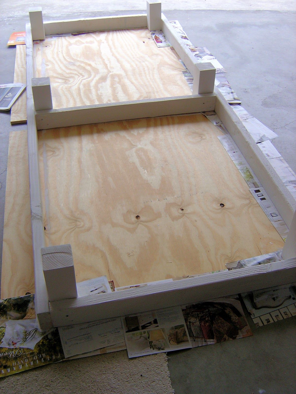 DIY Outdoor Project: Phase 2 - Making the Outdoor Daybed #diyoutdoorprojects