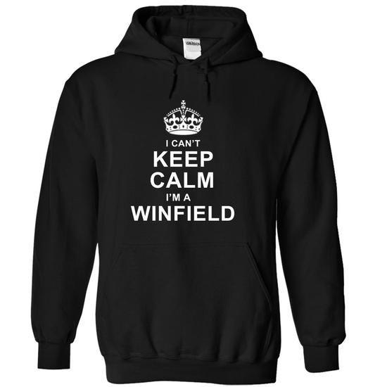 I Cant Keep Calm, Im A Winfield! - #white shirt #geek tshirt. PRICE CUT => https://www.sunfrog.com/Names/I-Cant-Keep-Calm-Im-A-Winfield-Black-14570413-Hoodie.html?68278