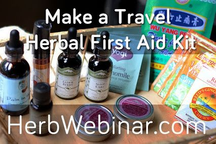first aid travel kit freebie webinar
