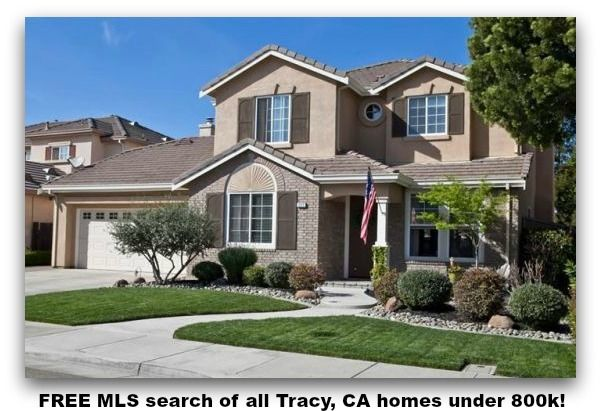 Free Mls Search Of All Tracy Ca Homes Under 800k Tracy Ca