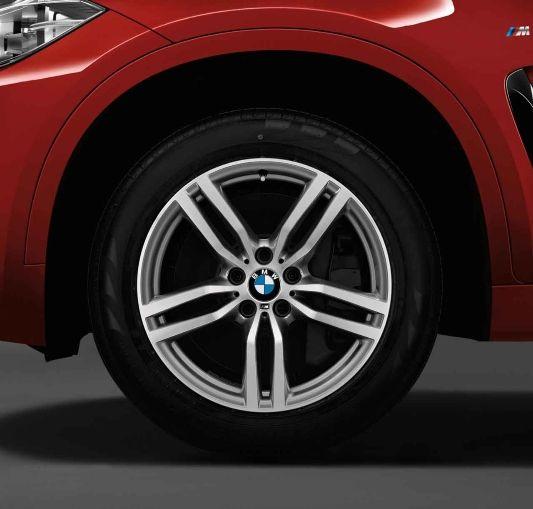 Bmw X6 M Light Alloy Wheels Double Spoke 623 M Bmw M
