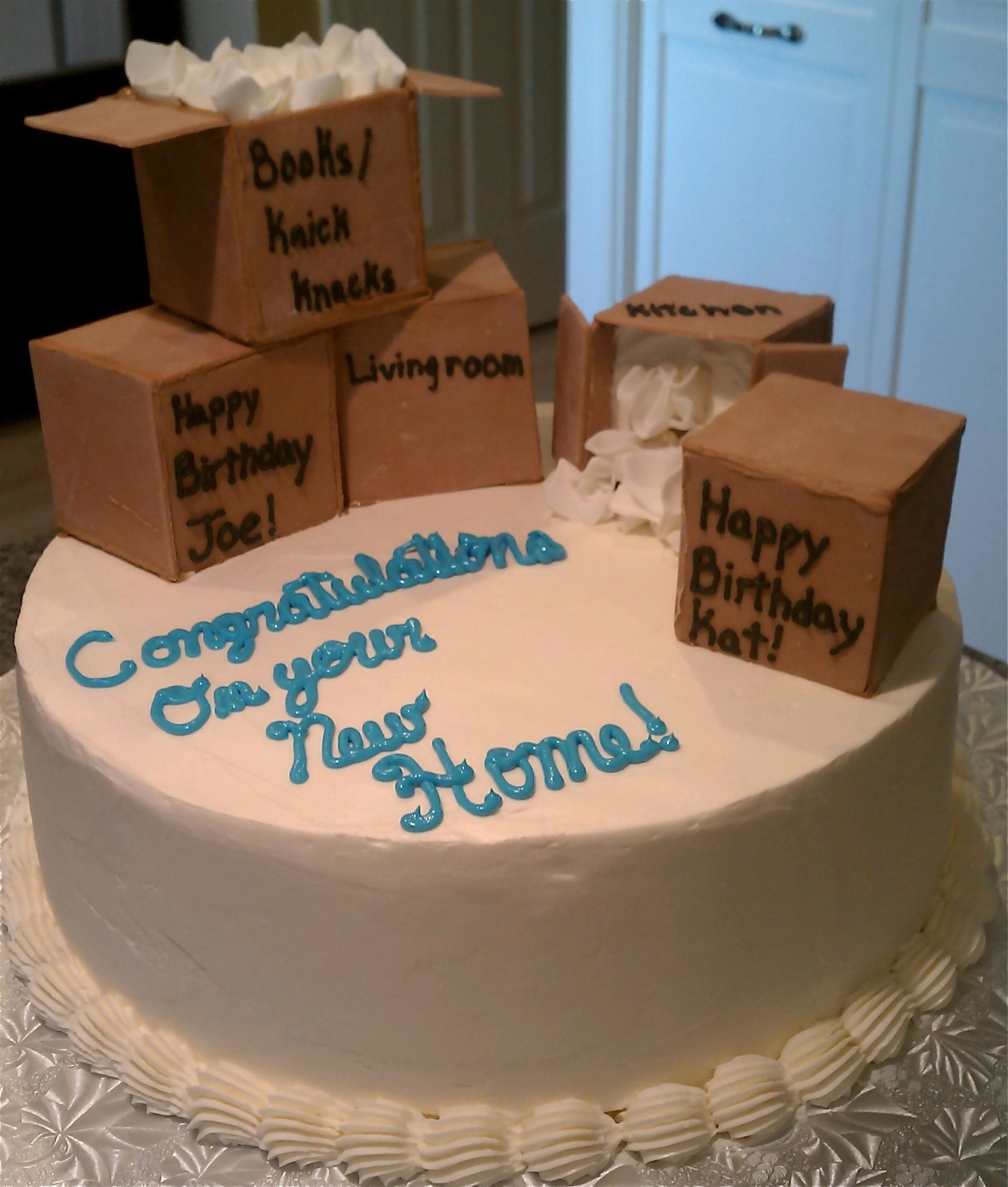 Cake, Housewarming