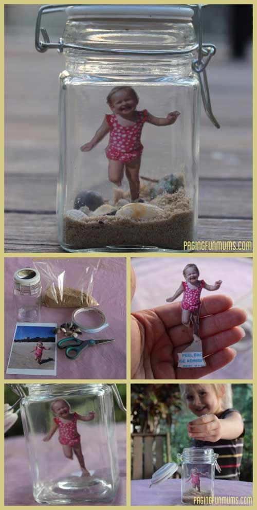 A great way to capture the memories of Summer and the beach