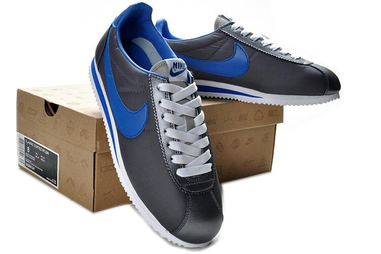 163e31be98d59 ... Nike Cortez...Black and Dodger Blue ...