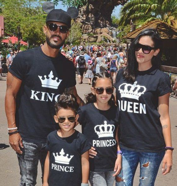 cce275268f355 King Queen Prince Princess Shirts for couples Family, T-shirts King Queen  Prince Princess (Price 1