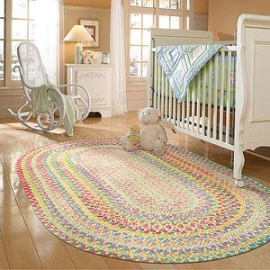 Spring Garden Braided Rug Yellow Multi 340 This One S