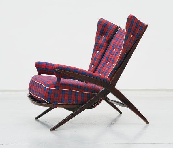 Franco albini fiorenza chair interiors and textiles for Mobili danesi
