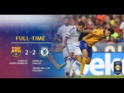 Chelsea vs Barcelona 4-2 Penalties and highlights International Champion...