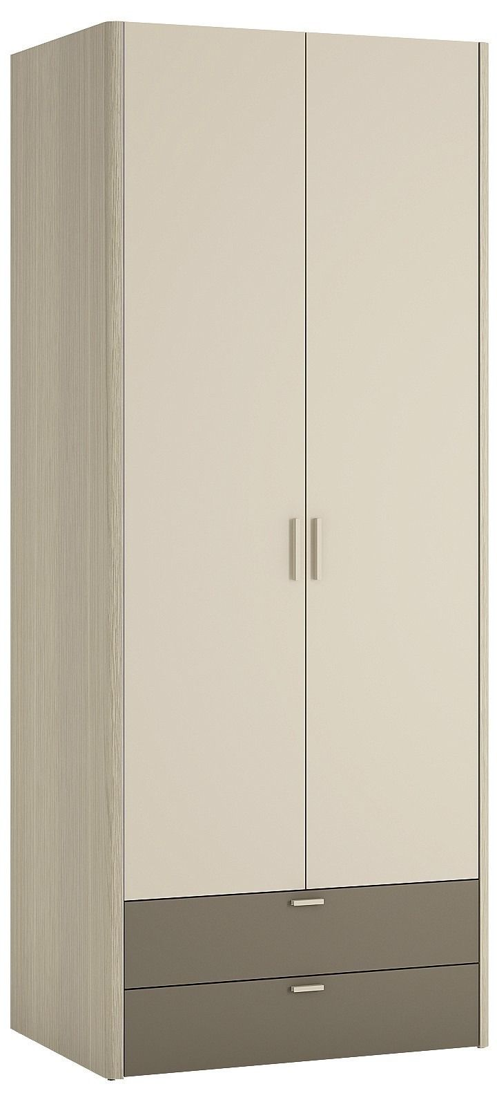 Holiday 2 Door 2 Drawer Fitted Wardrobe In Oak Plover Cream Melamine Offers A Great Ra Wardrobe Interior Design Wardrobe Furniture Fitted Bedroom Furniture
