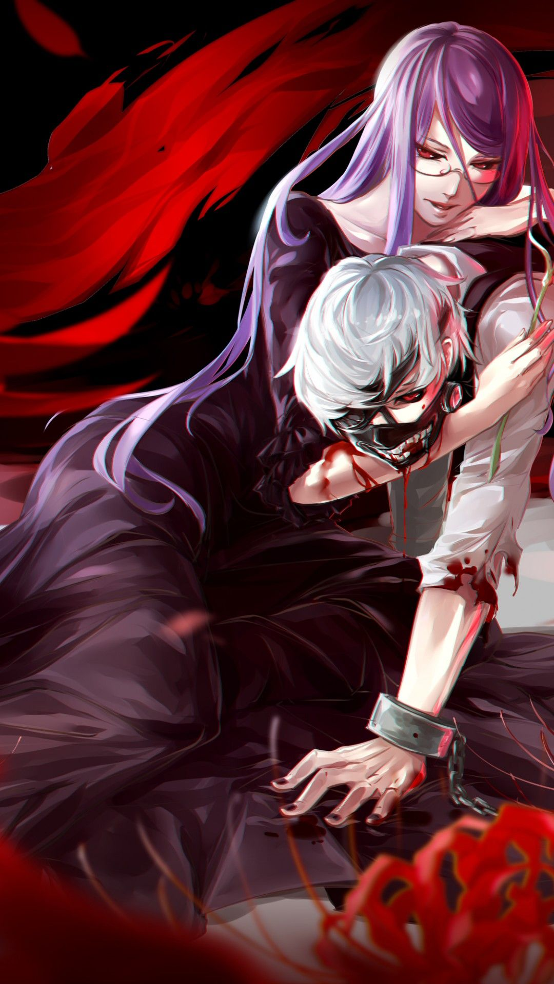 Tokyo Ghoul Rize Wallpapers Desktop Background Click