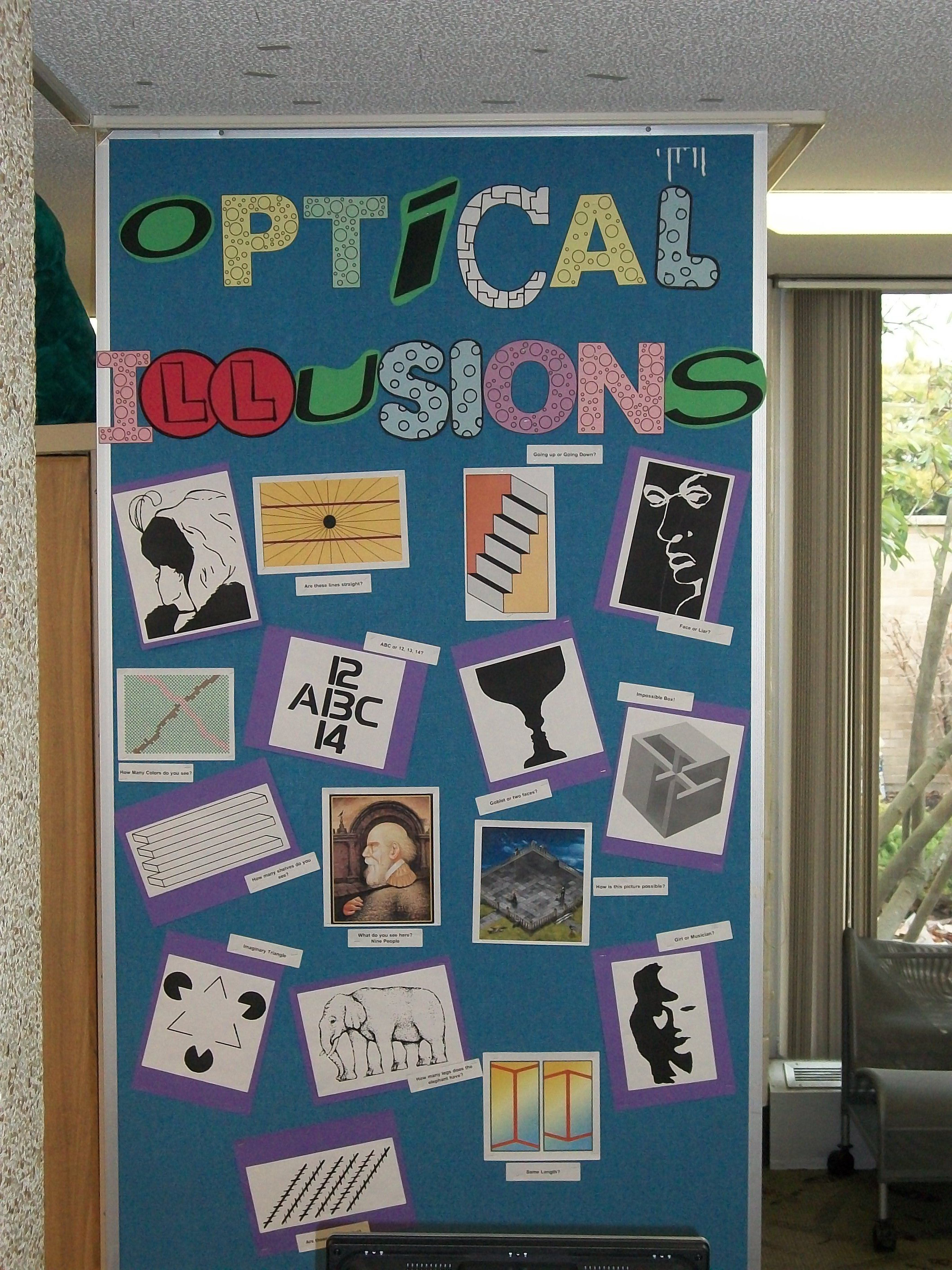 optical illusions school presentation # 15