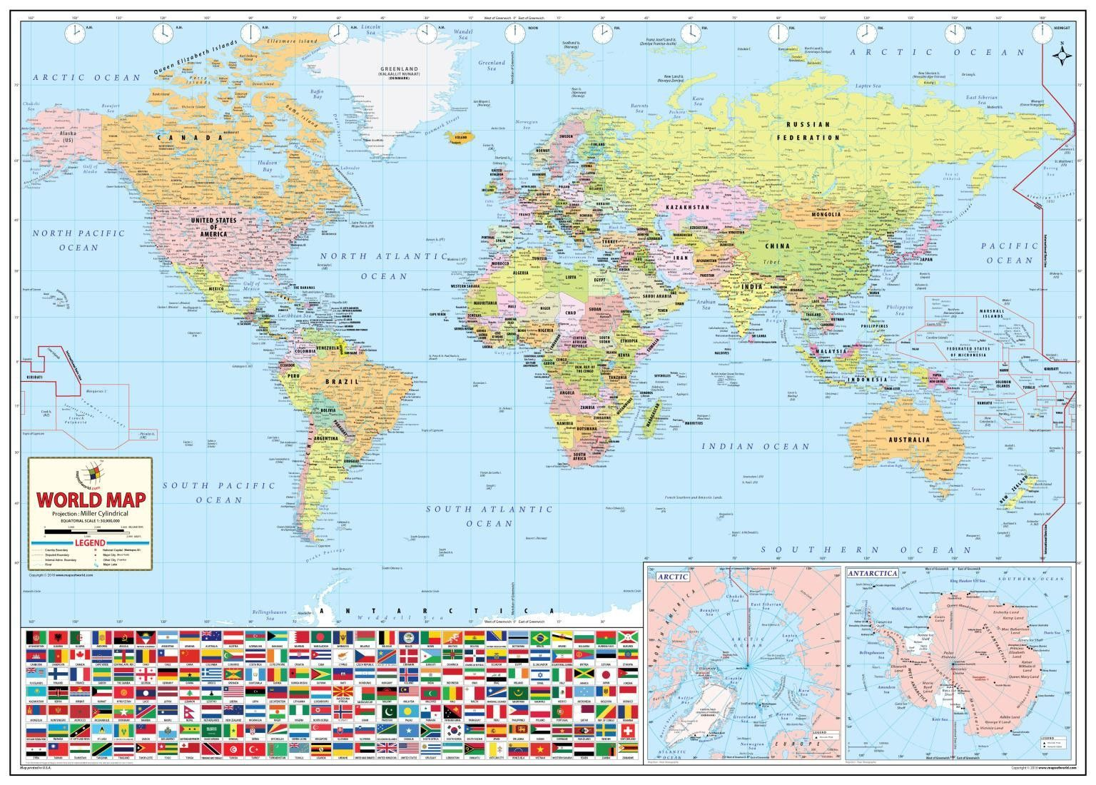Worlds Best World Map By Maps Of World