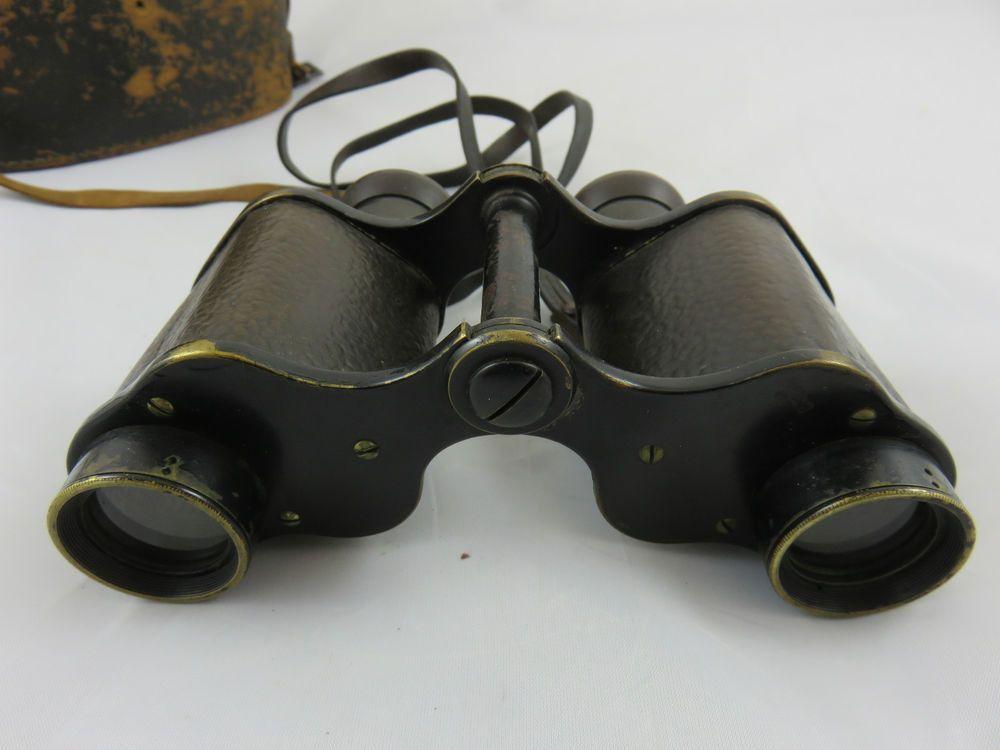 Fernglas binoculars ross london 6x mit original köcher und riemen