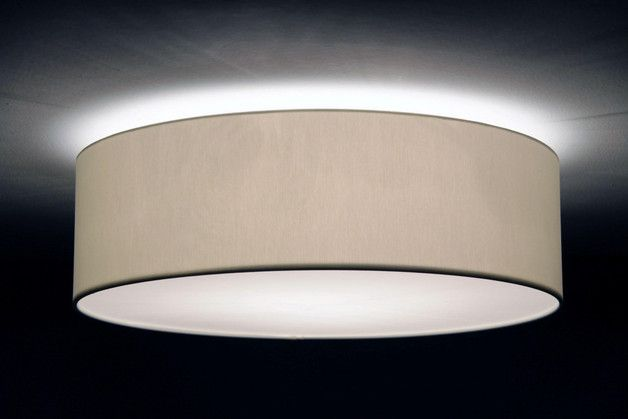 Deckenleuchte Schlafzimmer ~ Deckenleuchte d.70 cm h.20 cm lampenschirm stoff interiors and