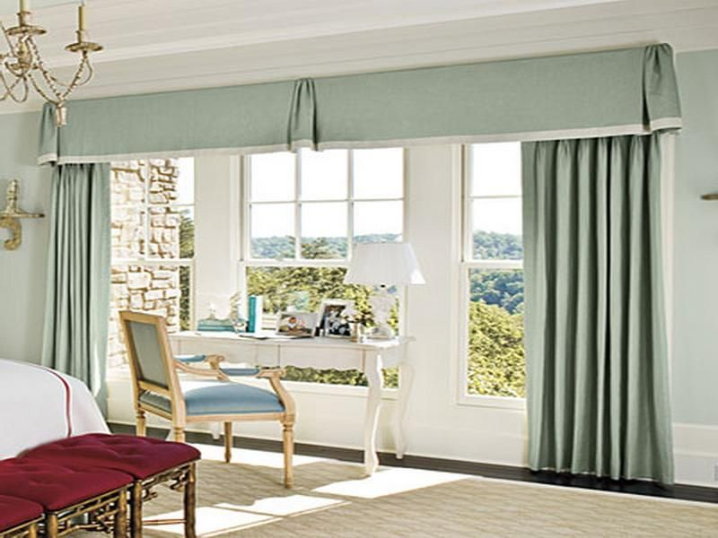 Beautiful Curtain Patterns For Large Windows Great Curtain