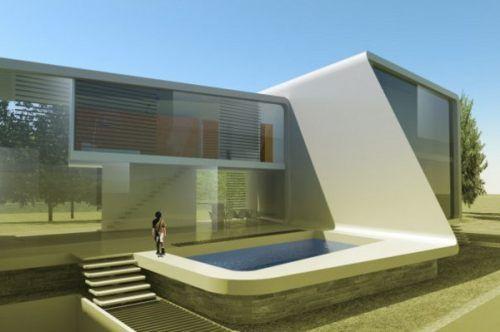 Ultra Modern Houses Futuristic 4 Modern House Plans Modern
