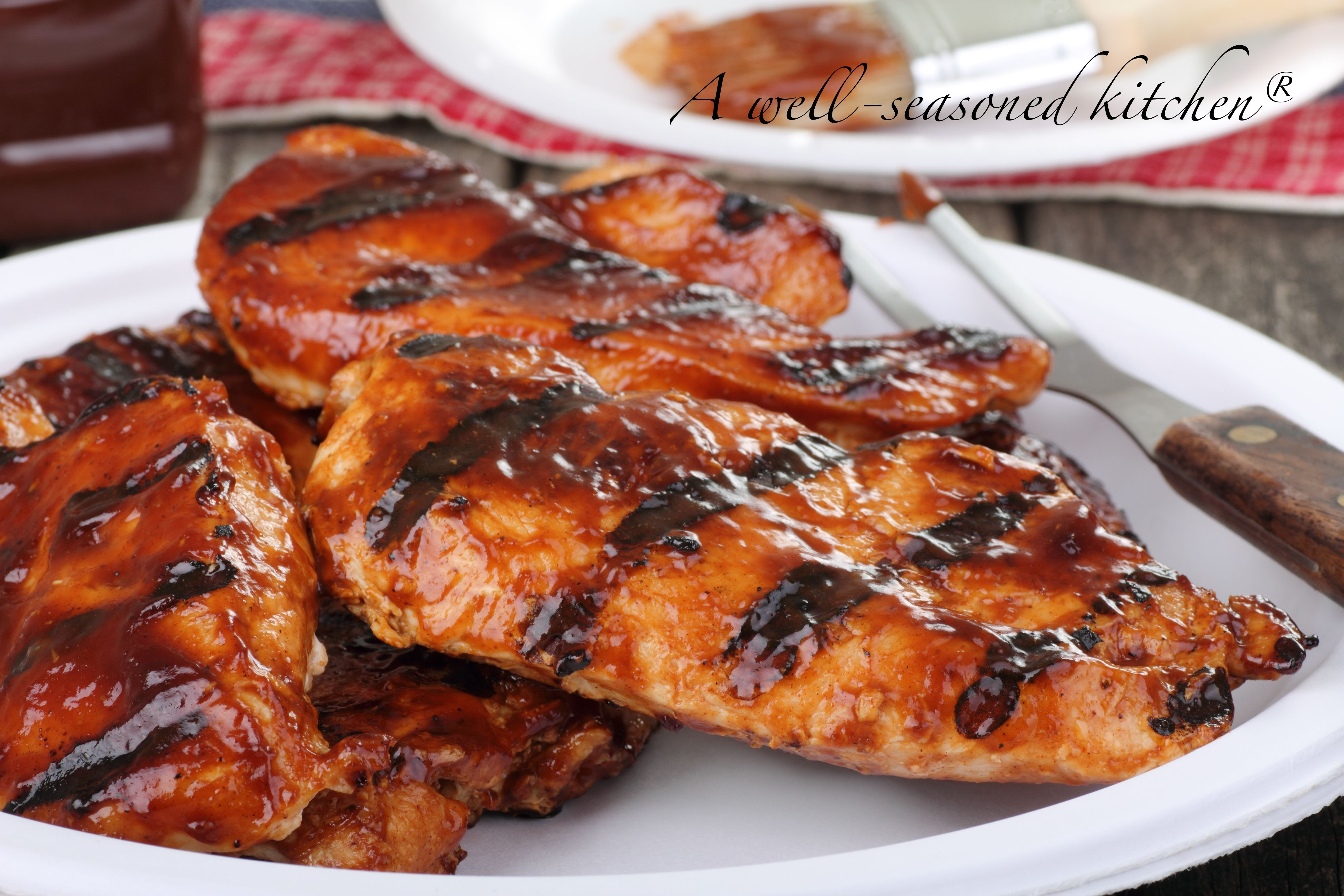 BBQ Chicken with Oklahoma BBQ Sauce – A Well Seasoned Kitche…
