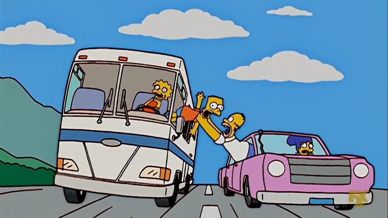 Los Simpson Homero Compra Nuevamente Una Casa Rodante Hd 1 Los Simpson Casa Rodante Los Simpsons