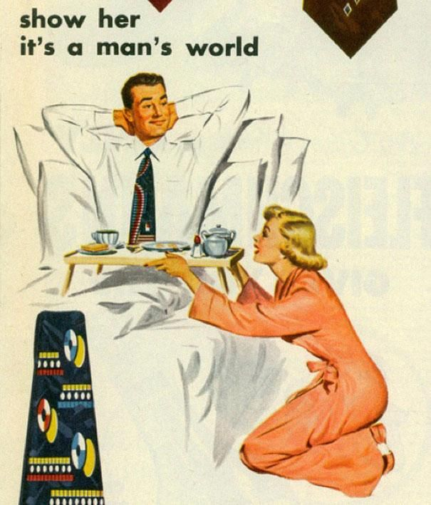 Old Van Heusen advert