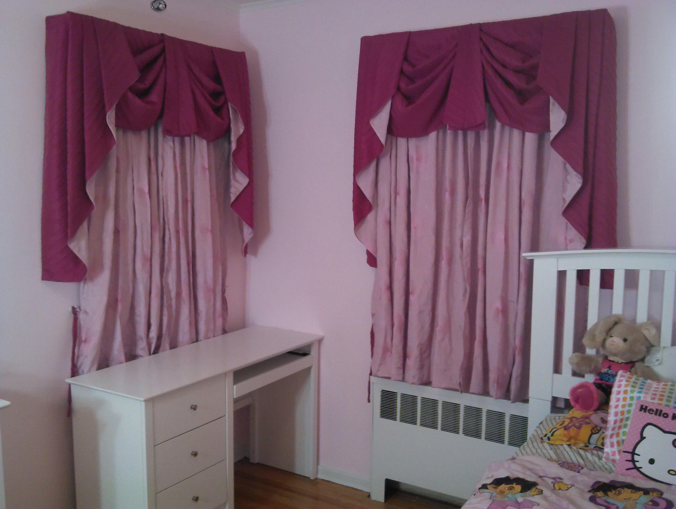 Cortinas con cenefa Drapeada | Cortinas para dormitorio | Window ...