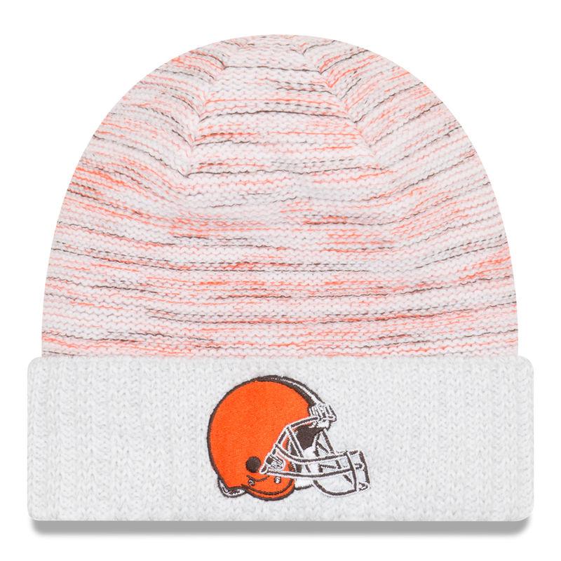 online retailer de4fa dc179 Cleveland Browns New Era 2017 Color Rush Kickoff Knit Hat ...