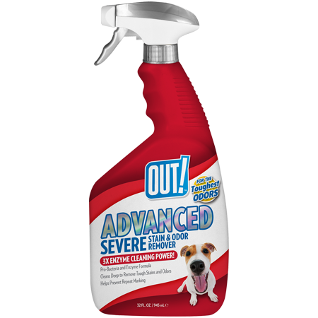 OUT! Advanced Severe Stain & Odor Remover, 32 oz Pet