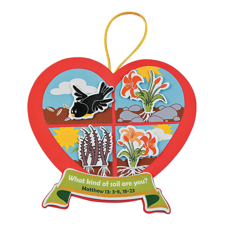 Sower Ornament Craft Kit - OrientalTrading.com | Bible ...