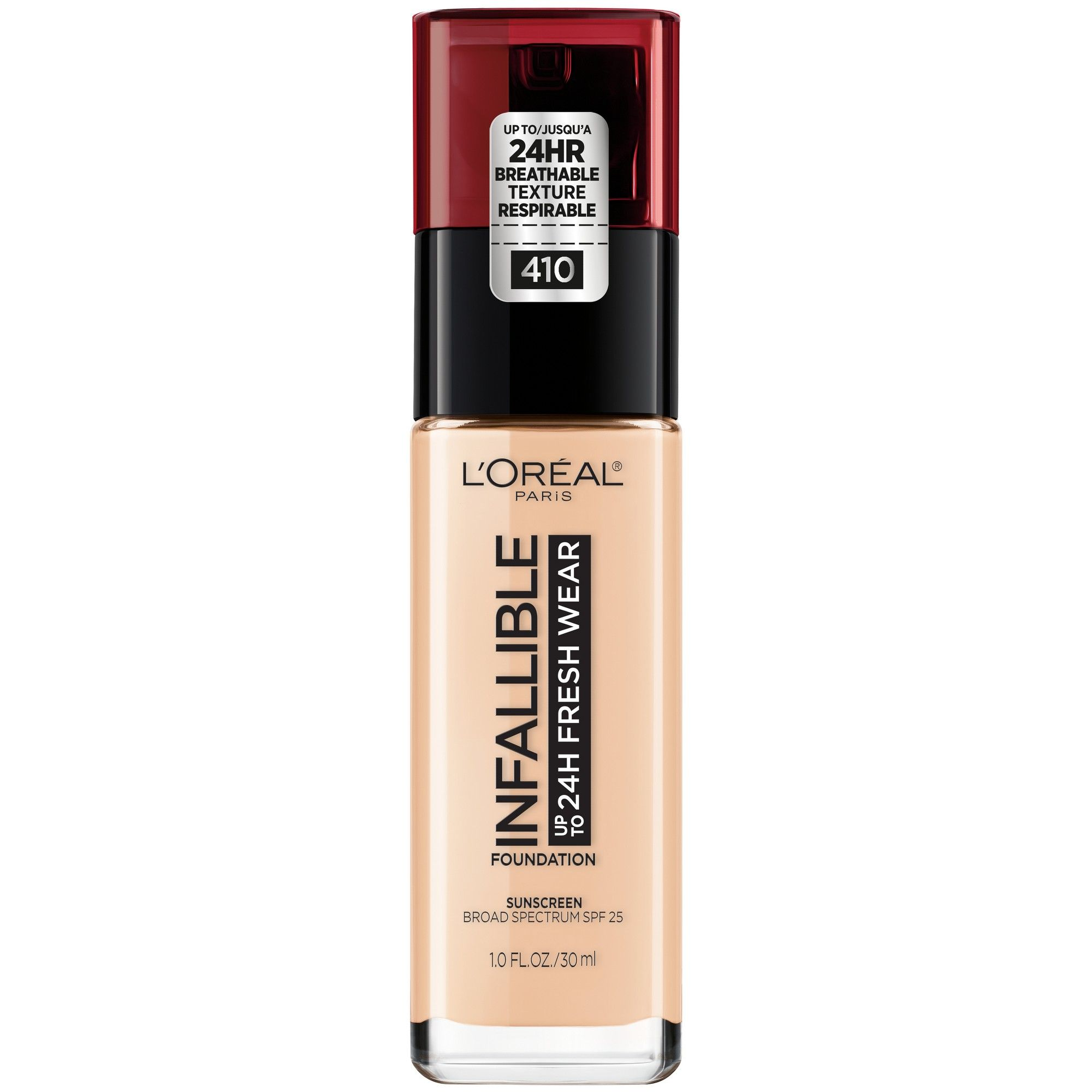 a5104e76798 Infallible 24HR Fresh Wear Foundation 410 Ivory - 0.17 fl oz, Ivory 410
