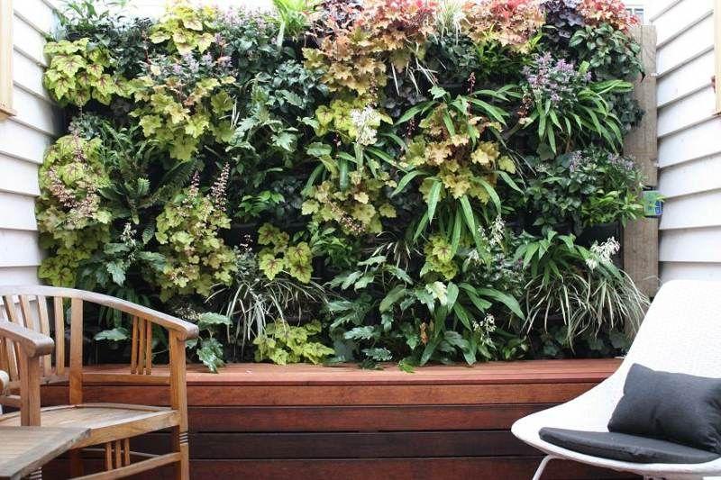 Balkon Sichtschutz - Eine intime Sitzecke gestalten Garten - garten pflanzen sichtschutz