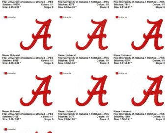 university of alabama logo font scrapbook paper google search rh pinterest com alabama band logo font Large Alabama a Logo