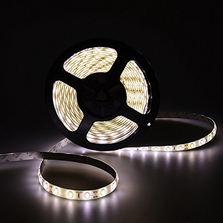 Waterproof SMD 5630 Warm White Led Strip Light 5M 300Led Flexible Lamp Tape 12V
