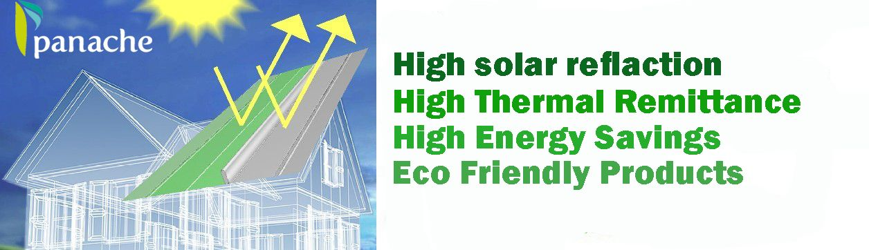 Panache Greentech Solutions Pvt Ltd Offers The Various Environment Friendly Cool Roofing And Waterproofing Products In India T Cool Roof Save Energy Roofing