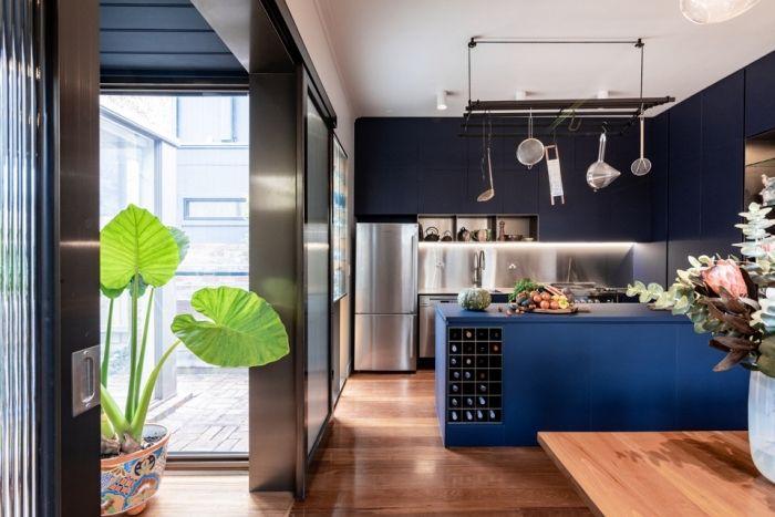 1001  moderne und stilvolle küchen ideen in blau in 2020