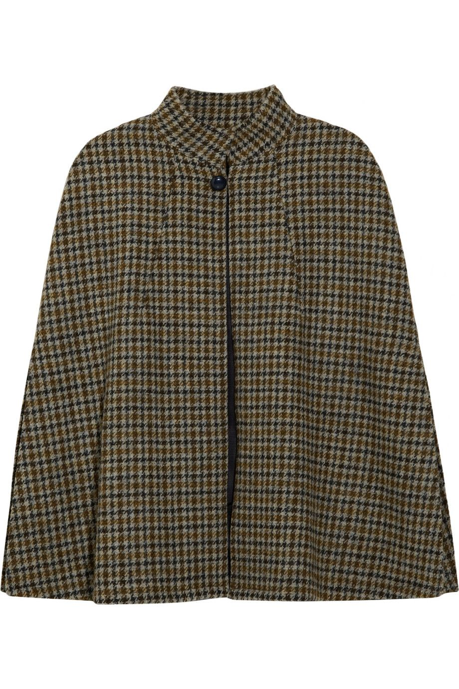 c812639e80e Hand-woven houndstooth wool cape / A.P.C.   wish list   Wool cape ...