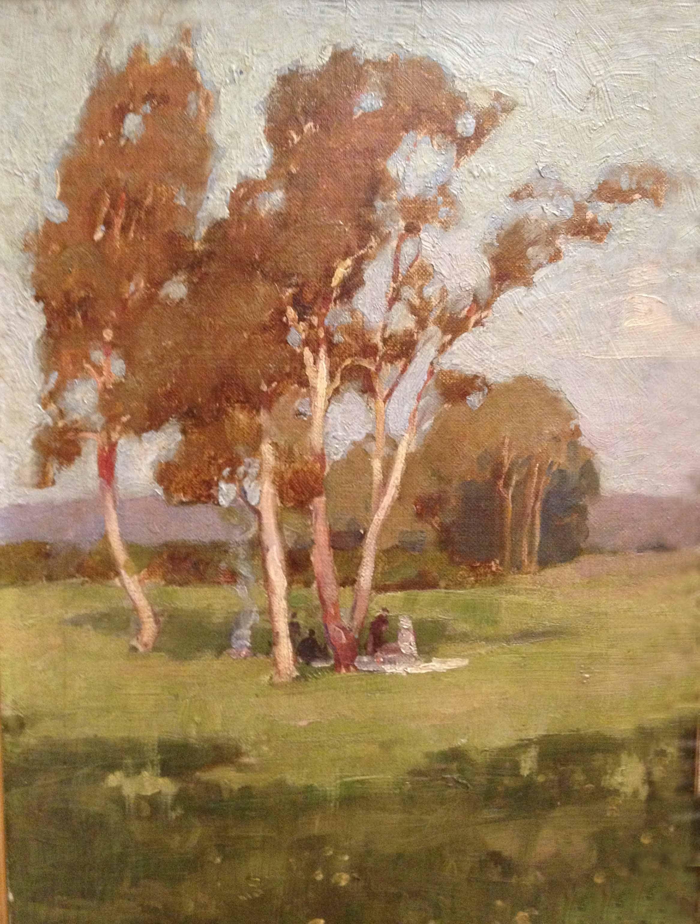 Sydney Long Australian Painting Art Landscape Paintings
