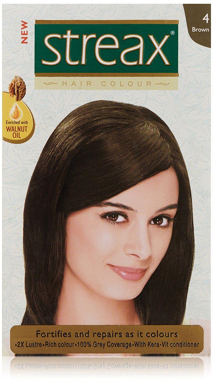 Streax Brown Hair Colour No4 50ml Read More Reviews Of The