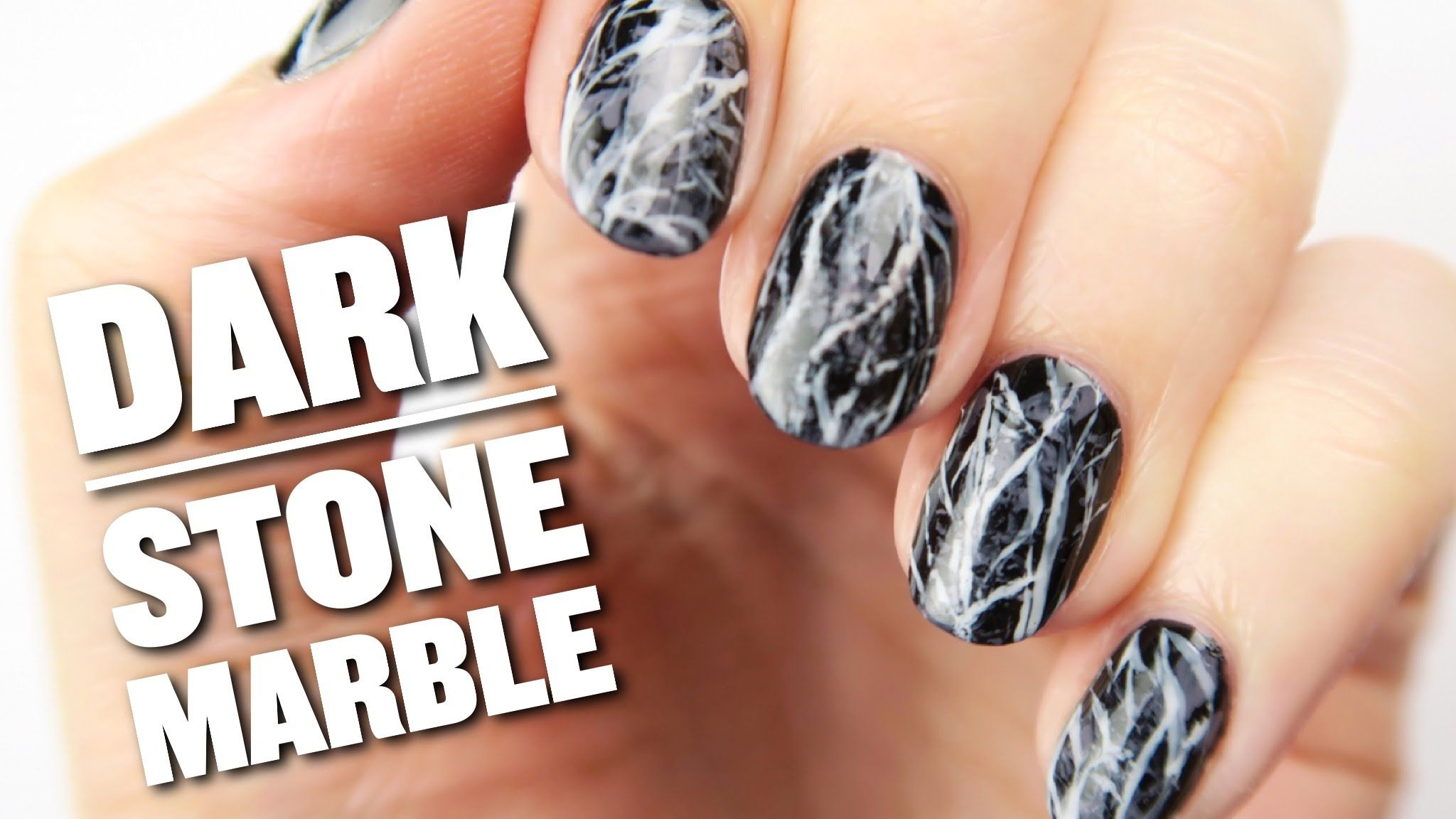Looking For A Dark And Edgy Nail Art Design Thats Easy To Create