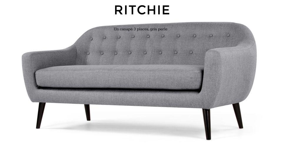 Ritchie Un Canapé 3 Places 190cm Made 600