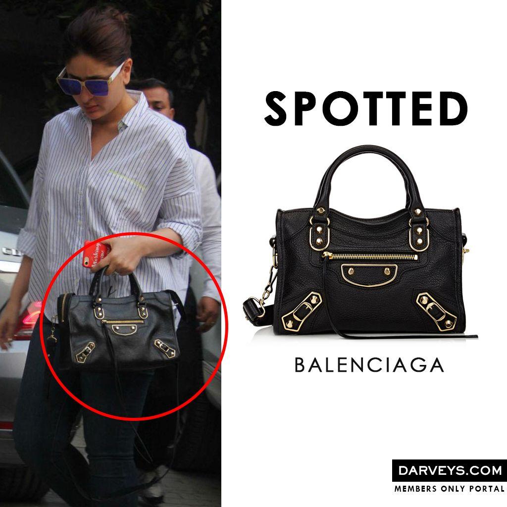 f32af206c8db Kareena Kapoor Khan spotted with Balenciaga Handbag! Get yours at  Darveys.com